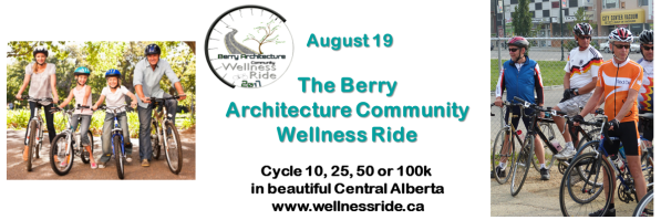 Berry Architecture Community Wellness Ride Banner
